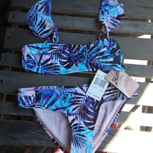 NWT Hobie Girls 2piece Bikini